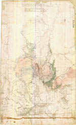 An old map showing the area around Malmsbury
