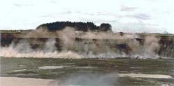 Blasting site