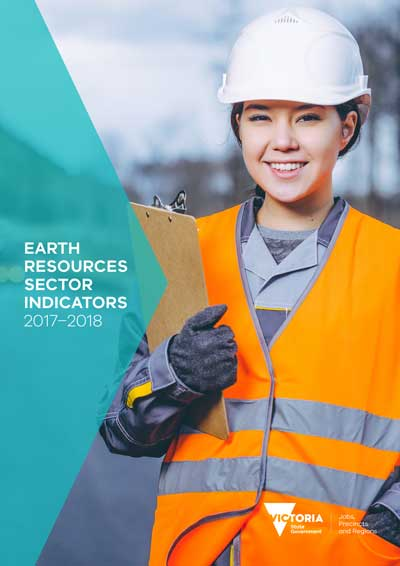 Cover of the Earth Resources Sector Indicators 2017-2018 report