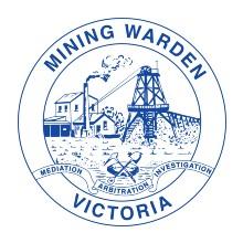 Victorian Mining Warden logo